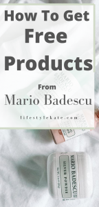 free products from mario badescu